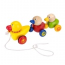 Duck Family Pull Toy - WD3118