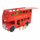 Wooden London Bus - WD8242
